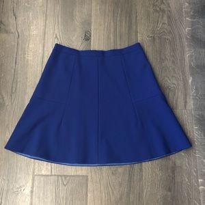 J Crew Factory blue skirt 2